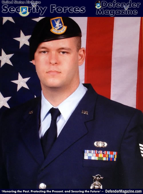 "Jonathan Greene, U.S. Air Force Security Forces ""Defender"""
